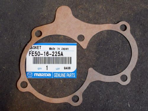 Gasket, gearbox front cover, genuine Mazda MX-5, 5-speed manual, FE5016225A